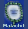Malachit  Power Armband