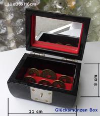 Glücksmünzen Feng Schui Symbol Reichtum Wohlstand Bagua Bereiche