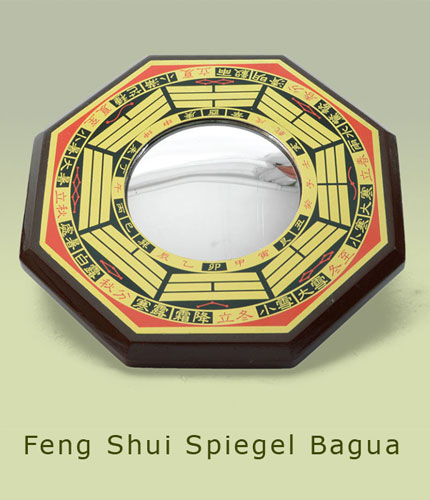 feng shui spiegel symbole tiere figuren bagua bereiche. Black Bedroom Furniture Sets. Home Design Ideas