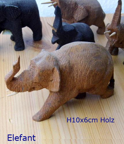 elefant holz stein ton porzellan tiere figuren symbole. Black Bedroom Furniture Sets. Home Design Ideas